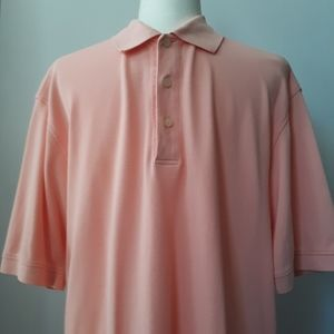 Brooks Brothers Golf | Men's Peach Polo | Size: L